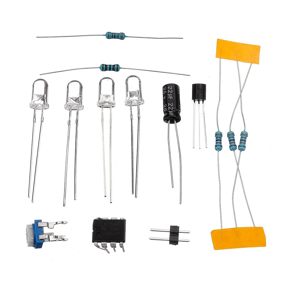 3pcs lm358 breathing light parts electronic diy blue led flash lamp electronic production kit