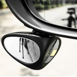 3R Car Double Side Blind Spot Rearview Mirror HD 360 Wide Angle Reversing Auxiliary Mirror