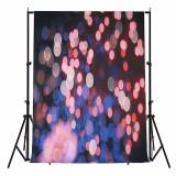 5x7FT Vinyl Valentine's Day Colorful Halo Romantic Photography Backdrop Background Studio Prop