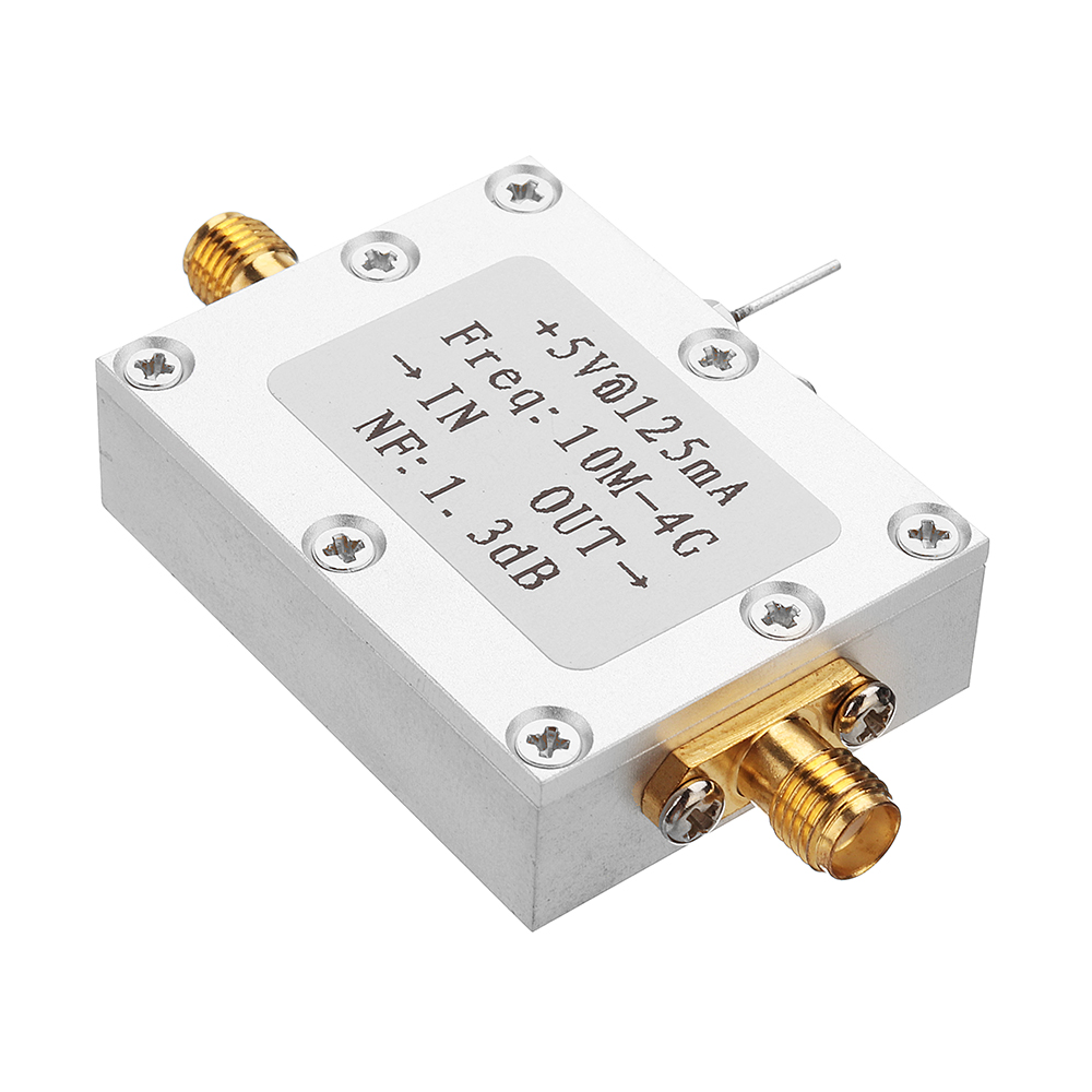 Ultra Low Noise Amplifier LNA High Linearity 21DB 10M-4G High Gain Wideband Amplification Module