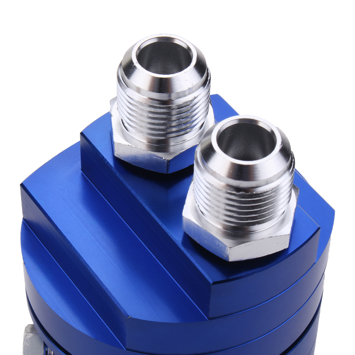 2Pcs Oil Filter Relocation Male Sandwich Fitting Adapter Kit 3/4X16 20X1.5