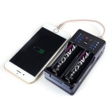 Palo NC572 2 Slot AA AAA Ni-Mh Ni-Cd Rechargeable Battery Charger Power Bank