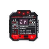 HT106B US Socket Outlet Tester Circuit Polarity Voltage Detector + Winpeak ET8900 Voltage Tester Pen