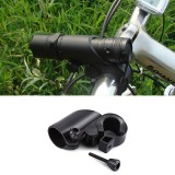 BIKIGHT Bike Bicycle Flashlight Holder Mount Bracket 360 Rotary Cycling Light Clip Adjustable Clamp