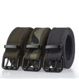 110cm AWMN PH14 3.8cm Military Tactical Belt Quick Inserting Buckle Nylon Leisure Belt for Men Women