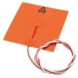 110V/220V 180w 150*150mm Silicone Heated Bed Heating Pad for 3D Printer with NTC 100K &   Glue