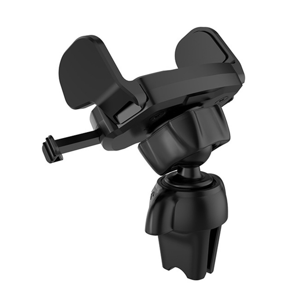 HOCO Semi Auto Lock Clip 360 Degree Rotation Car Mount Air Vent Holder for iPhone Mobile Phone