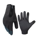 CoolChange Full Finger Cycling Motorcycle Bike Windproof Gloves Touch Screen Anti-slip Ride Bicycle