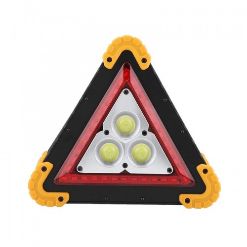 3COB+36 LEDs 1600LM 4 Modes Outdoor Portable Handle Triangle Flashlight Car Repair Work Light