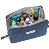IPRee Portable Waterproof Cosmetic Wash Bag Women Make Up Storage Travel Toiletry Pouch Organizer