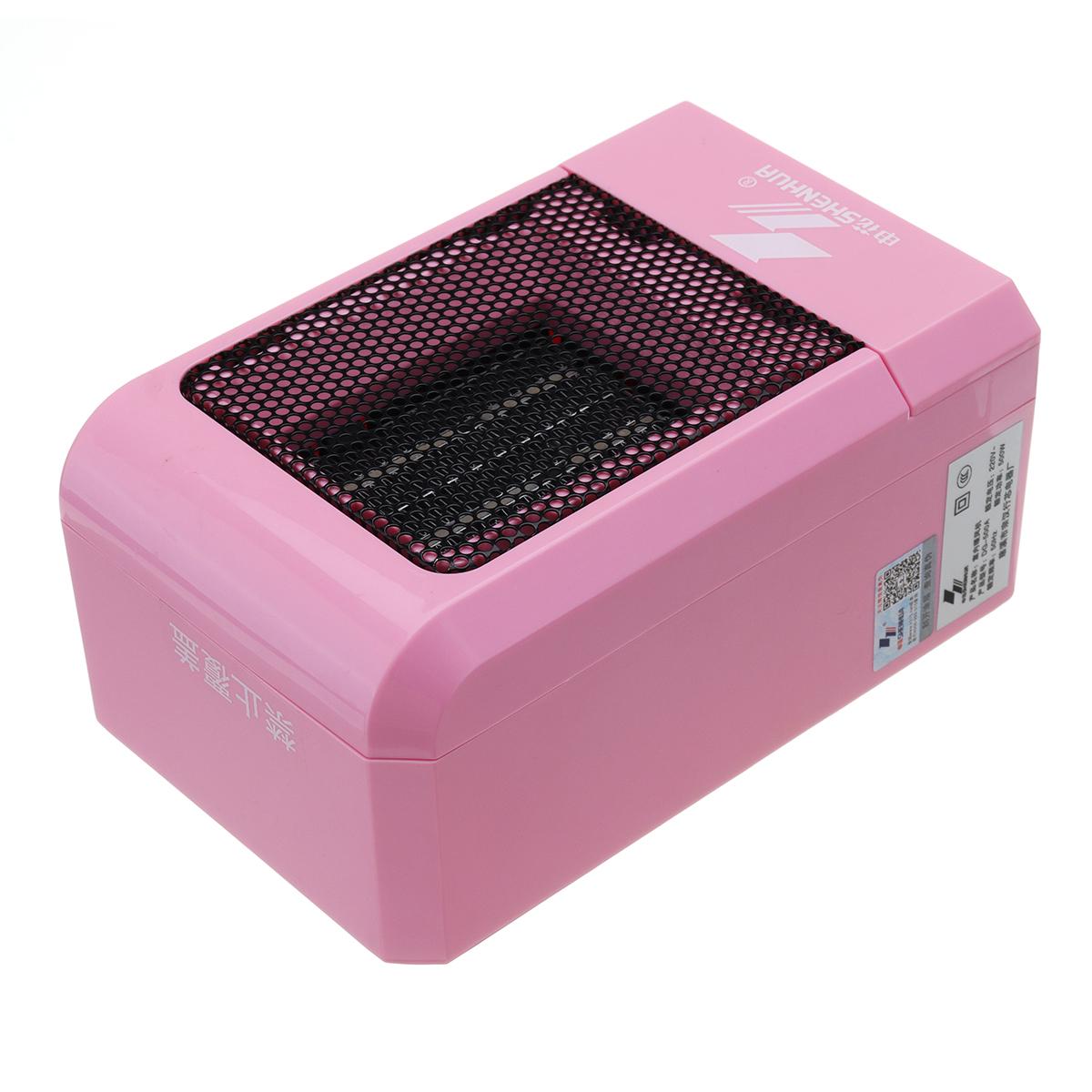 220V 500W Electric Desk Fan Heater Mini Air Heater Fan Winter Heater