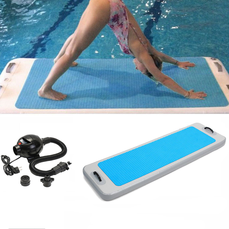 2 215 0 62 215 0 1m Airtrack Floating Yoga Mat Gymnastics Pad