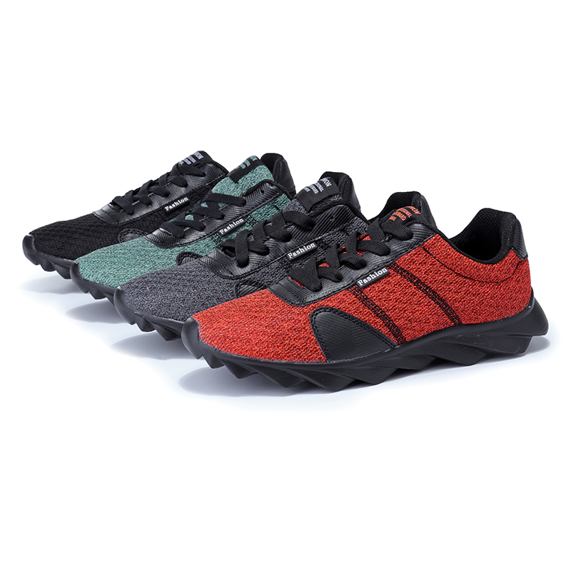 Men's Outdoor Casual Athletic Sports Fashion Lace-up Breathable Running Hiking Shoes Sneakers
