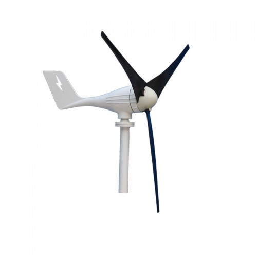 600W 12V/24V Wind Turbine Generator 3 Blades Horizontal Residential Wind Turbine Generator