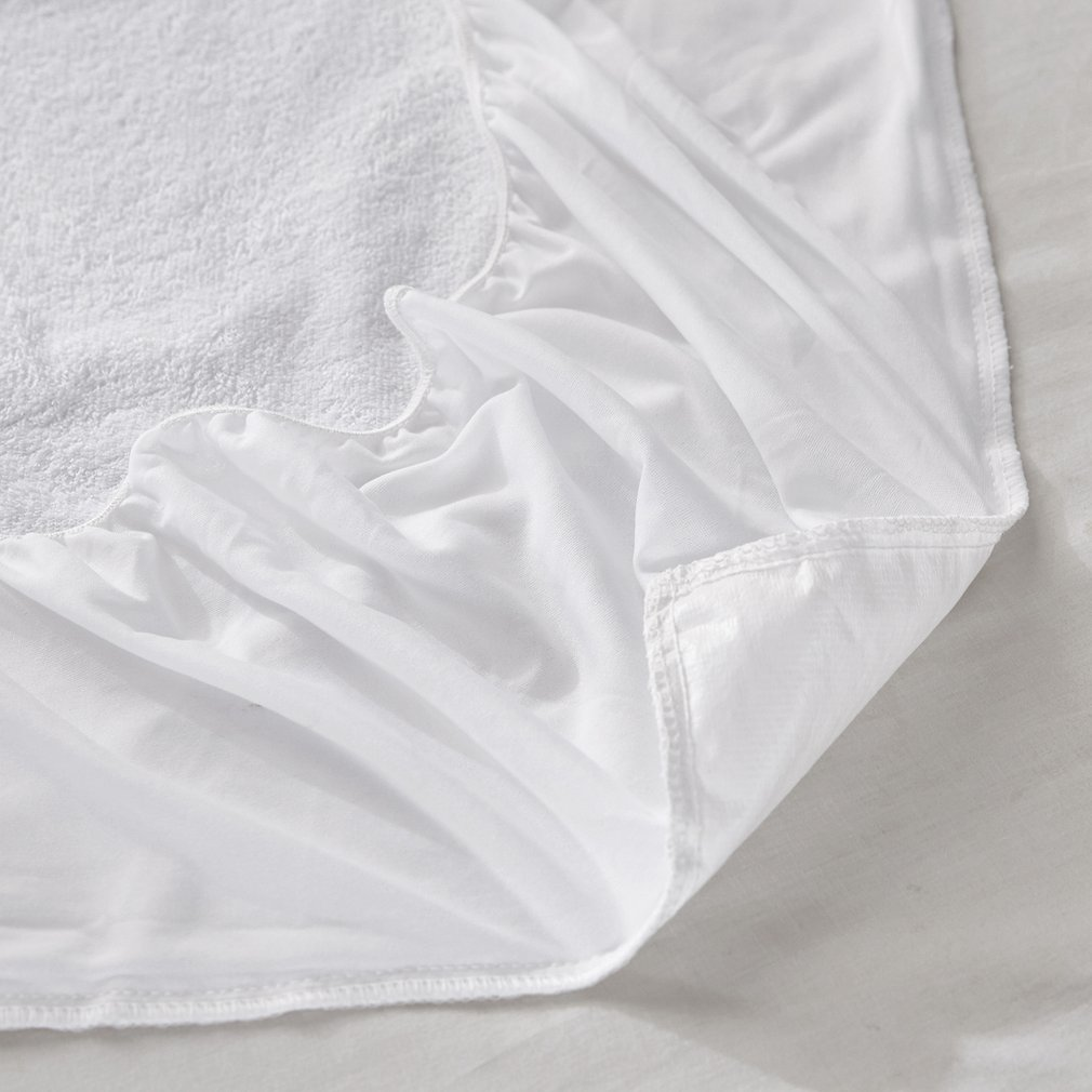 Waterproof Mattress Protector Cover Smooth Anit-mite Breathable Bed Cover Baby Urine Pad