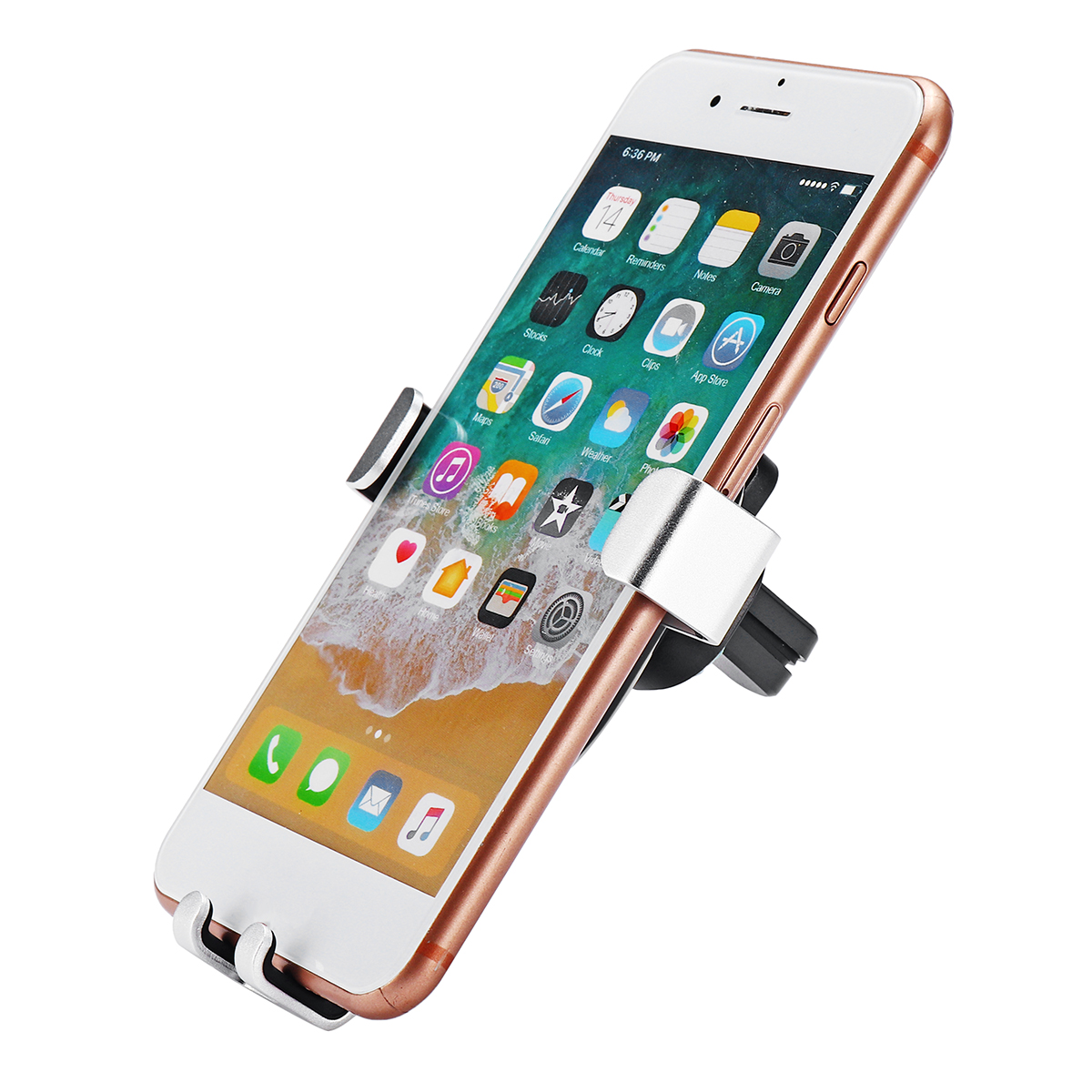 Universal Gravity Linkage Automatical Lock Car Mount Air Vent Holder for Xiaomi Mobile Phone