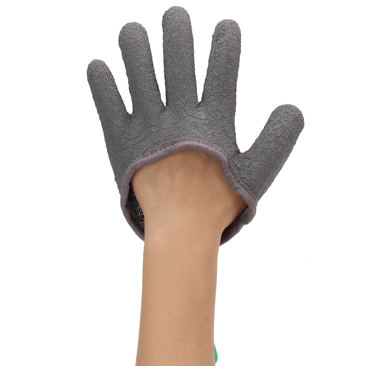 1pc M/L/XL Grey Left Cut Resistant Fishing Glove Protective Safety Gloves Knife Slash Proof Gloves