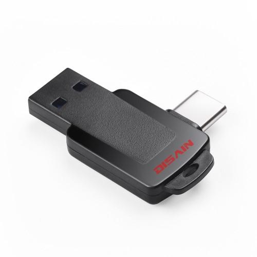DISAIN 16GB 32GB 64GB Type-c OTG USB 3.0 High Speed U Disk Flash Drive for Xiaomi Tablet PC
