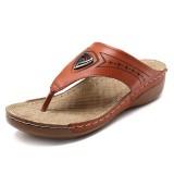 Women Soft Casual Beach Flip Flops Flat Sandals