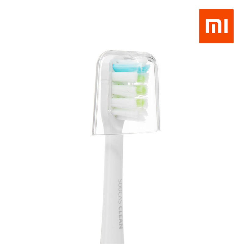 2pcs Xiaomi SOOCAS X1 Replacement Toothbrush Heads For SOOCAS X1 Electric Toothbrush White