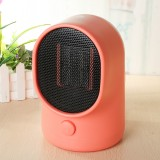 500W Portable Electric Space Heater Desktop Heating Fan Handy Air Warmer Home Office