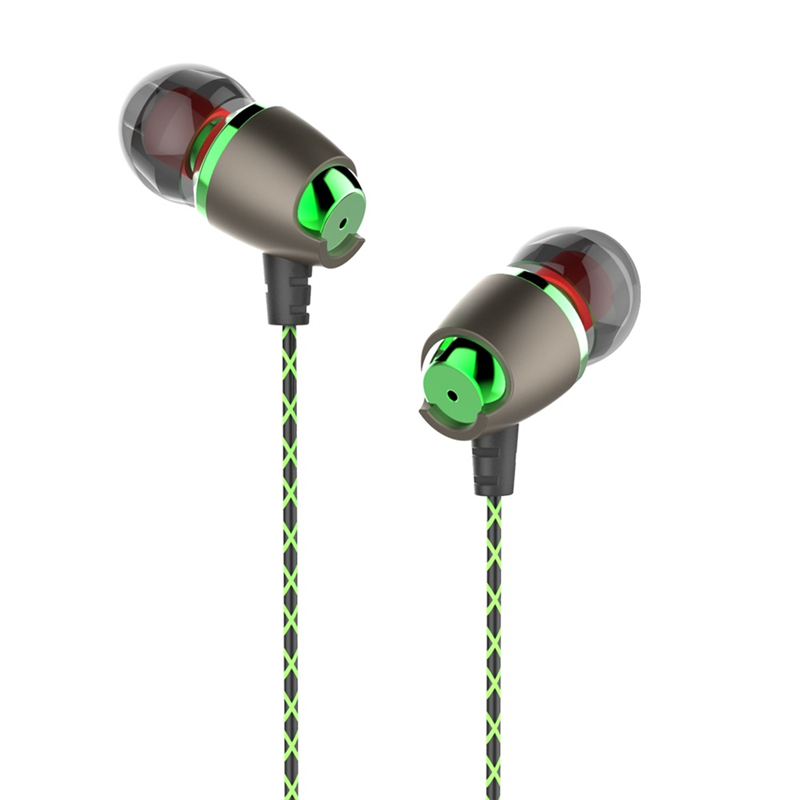 PLEXTONE X50M Earphone 3.5mm Wired Control Magnetic Adsorption Stereo Sports Headphone with Mic