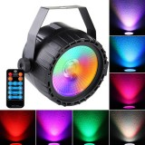 ARILUX AC90-240V 10W RGB UV LED Stage Light Remote Control Sound-activated Par Lamp for Christmas