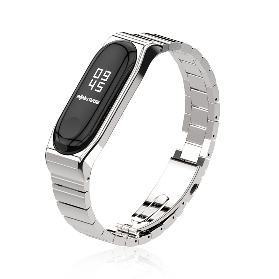 Mijobs Anti Lost Metal Pro Strap Simple Design Watch Band