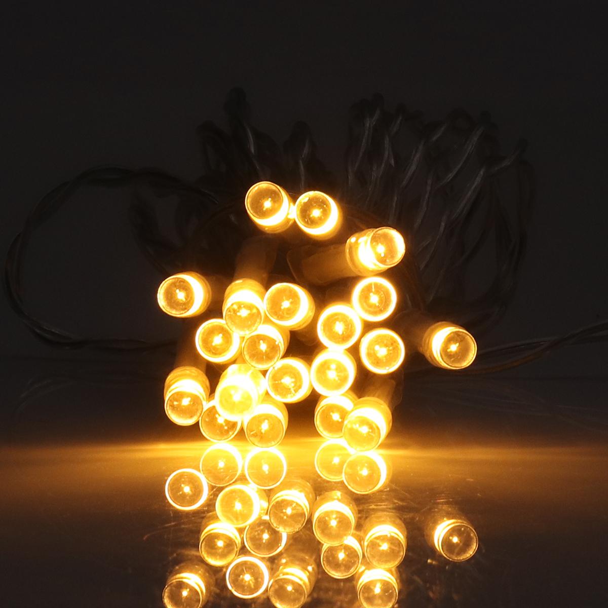3M 20 LED String Light 8 Modes Solar Powered Outdoor Christmas Light