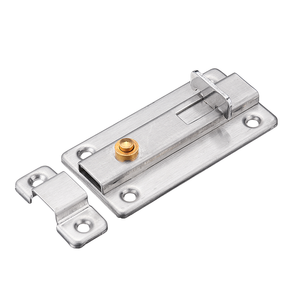 Stainless Steel Automatic Spring Door Sliding Latch Lock