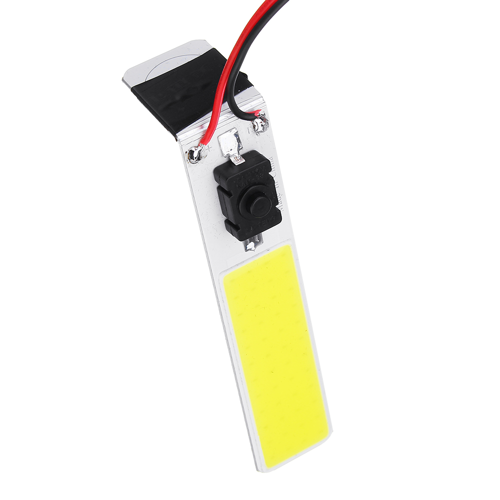 DC12V 9.6W COB LED Chip Strip Magnet Light Source 900LM Camping Lamp with 5M Wire & Switch