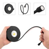 LUSTREON Flexible Telescopic COB LED Work Light Torch Flashlight Magnetic Pick Up Tool Camping Lamp