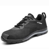 H20 Outdoor Sport Men Steel Toe Lightweight Bulletproof Midsole Safety Slip-on Hiking Shoes Sneakers
