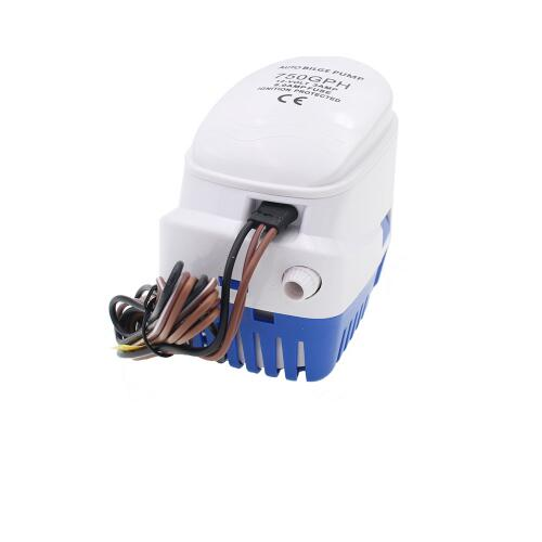 12V 24V 750GPH Automatic Water Bilge Pump For Boat Submersible Auto Pump With Float Switch Marine
