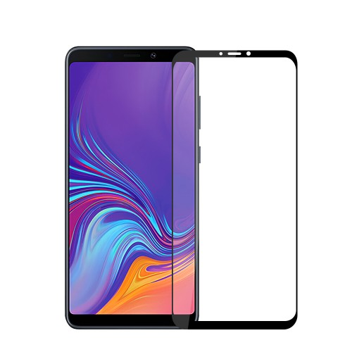 Mofi 2.5D Curved Edge AGCTempered Glass Screen Protector For Samsung Galaxy A9 2018 Full Screen Film