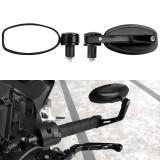 BIKIGHT E-bike Bike Bicycle Handlebar Mirror Adjustable Electric Bike Motorcycle Handle Rear Back Mi