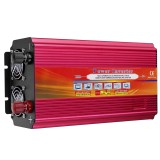LCD Power Inverter DC 12V/24V to AC 110V/220V 9000W Peak Modified Sine Wave Converter