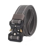 125cm AWMN S05 3.8cm Military Tactical Belt Nylon Inserting Cobra Buckle Belts For Men Women