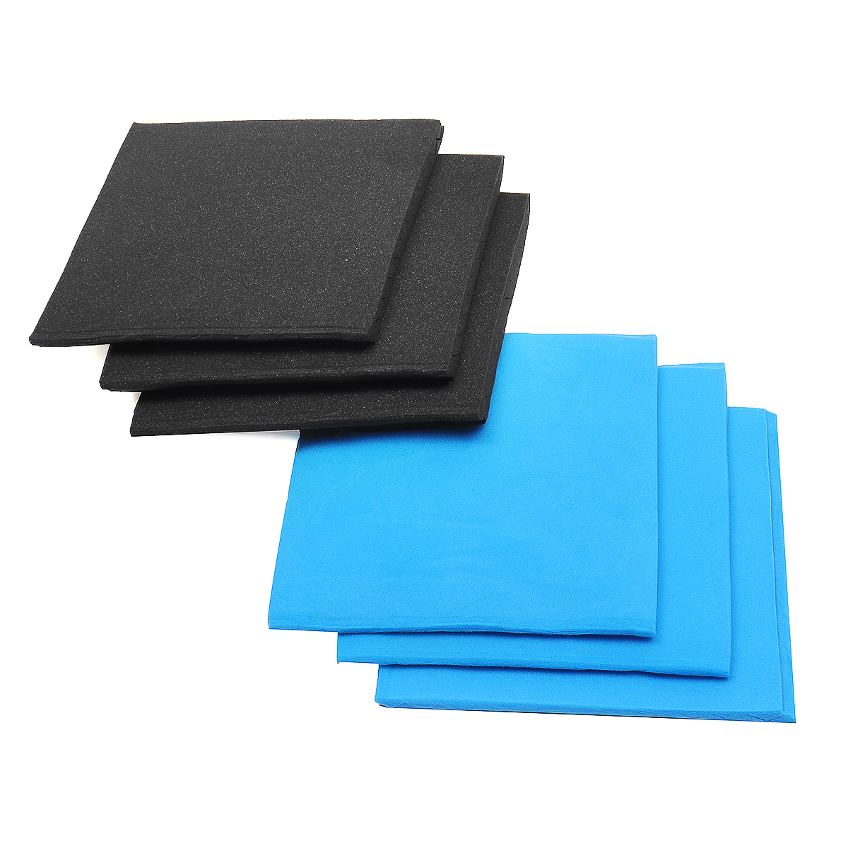 12pcs Acoustic Panels Soundproofing Sound Insulation Cotton Foam Tiles Studio 30*30*2.5cm