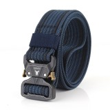 125cm ENNIU TB13 3.8cm Tactical Belt Metal Quick Release Military Army Fan Leisure Hunting Nylon