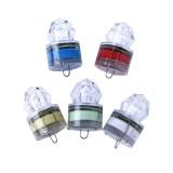 ZANLURE 1PC LED Deep Sea Diamond Night Fishing Lamp Underwater Mini Transparent Attracting Light