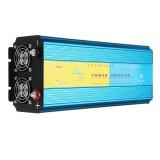 DC 12V/24V to AC 110V/220V 4000W Pure Sine Wave Power Inverter LCD Display