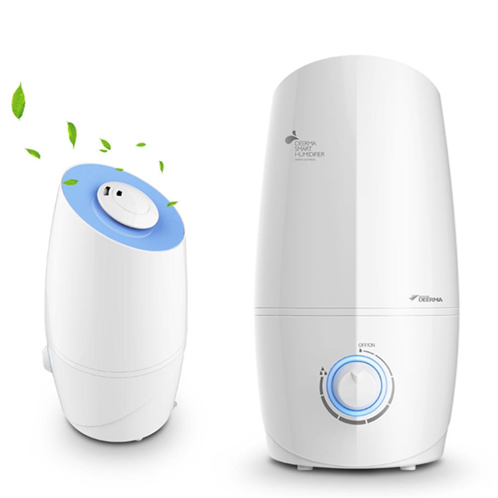 XIAOMI Deerma Mini Ultrasonic Air Humidifier Aroma Diffuser 3L Maquiagem Moisturizing Air Purifier