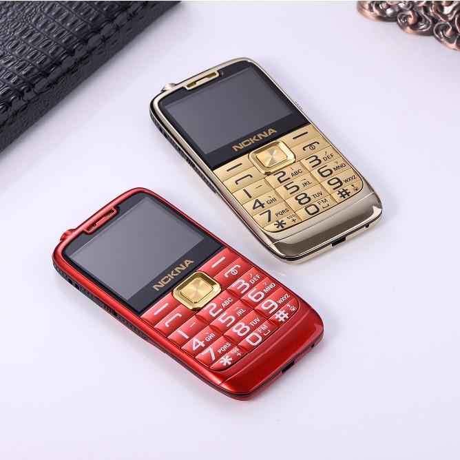 NCKNA E71 2.4 inch 5900mAh Bluetooth FM Torch Dual SIM Dual Standby Metal Body Slim Feature Phone