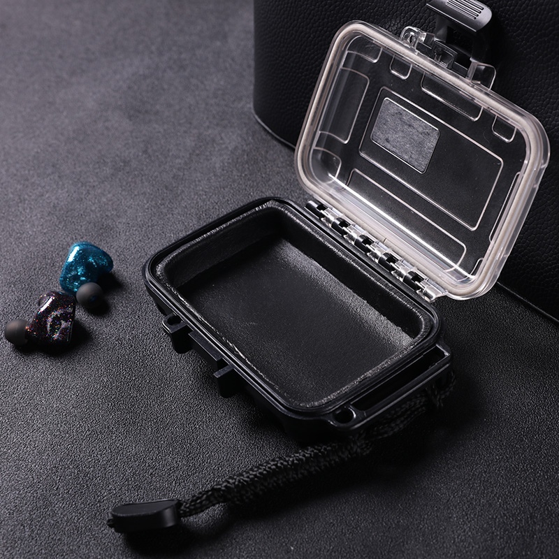BGVP Earphone Case Shockproof Waterproof Storage Box for Earphone Cable Charger TF Card