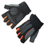 KALOAD 1 Pair Anti-slip Half Fingers Gloves Outdoor Fitness Sports Exercise Training Gym Gloves