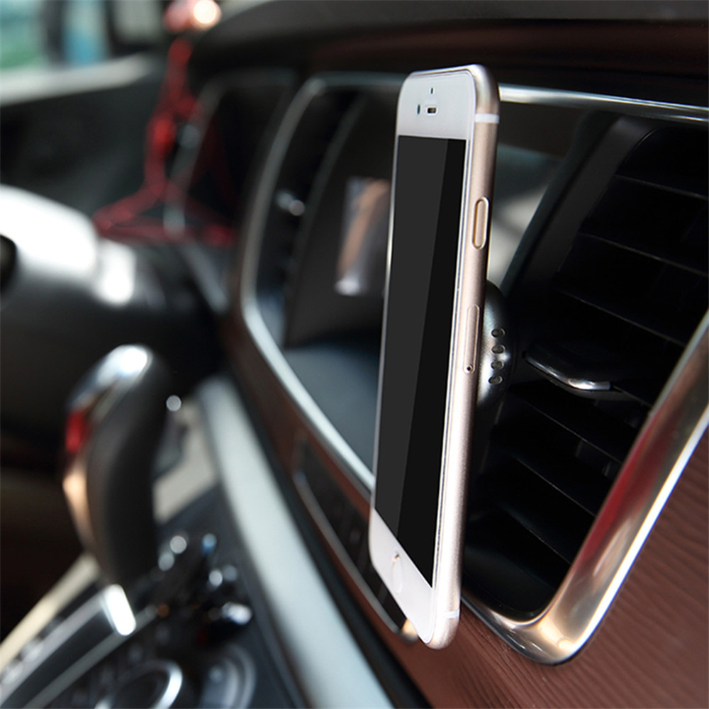 Rock Aroma Perfume Strong Magnetic Car Air Vent Holder Mount for iPhone Xiaomi Mobile Phone