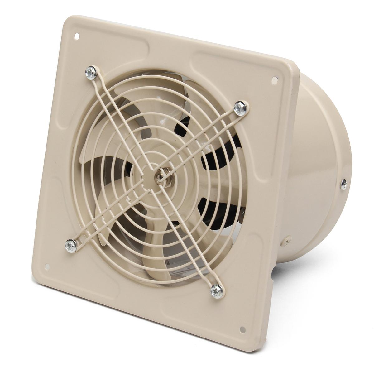 220v 40w ventilation fan 6 inch wall mounted window - Wall mounted exhaust fan for bathroom ...