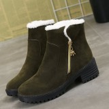 Winter Shoes Warm Lining Faux Fur Ankle Short Boots