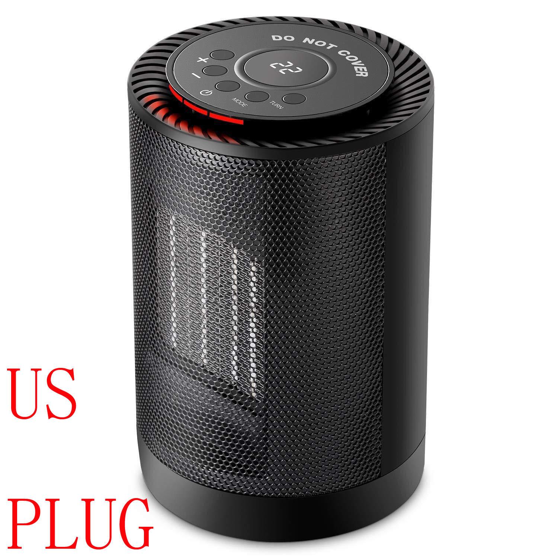 Portable Electric Desk Mini Air Heater Fan Home Warmer Heating Winter Fan